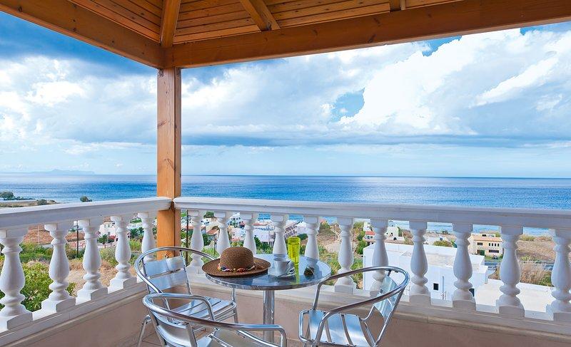 Sfakaki Villa Sleeps 6 with Pool and Air Con - 5473870, holiday rental in Sfakaki