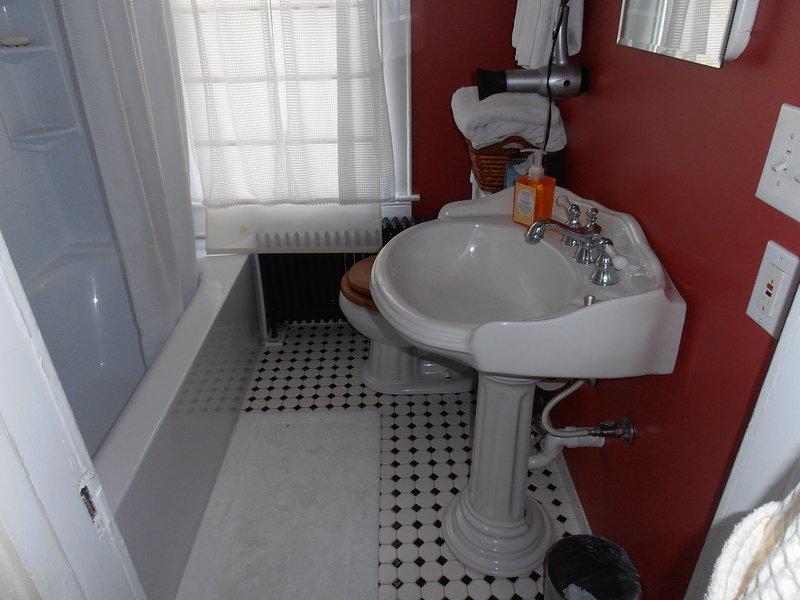 bath, oversized tub