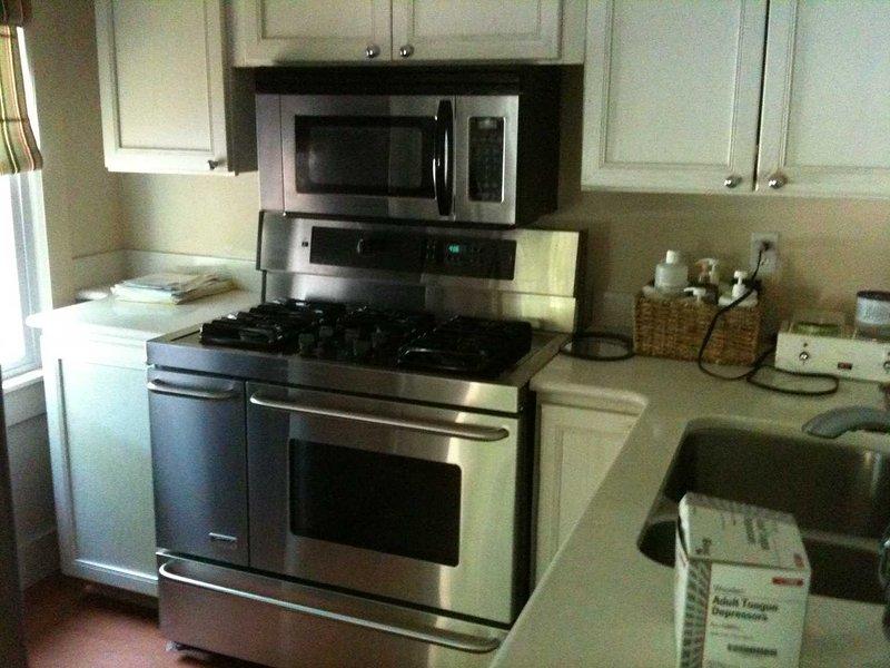 Gas top stove