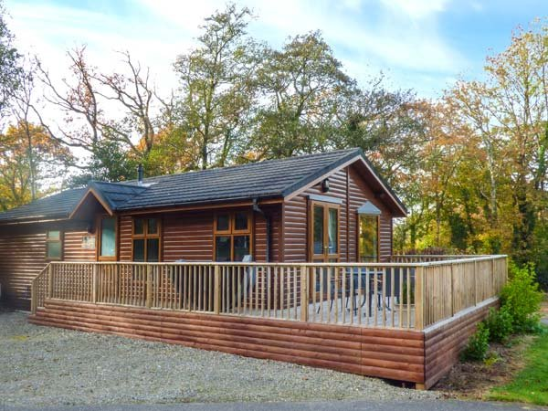 THE WILLOWS, detached log cabin, hot tub, WiFi, Narberth, Ref 948719, aluguéis de temporada em Narberth