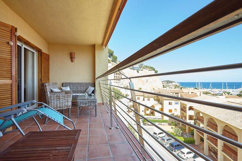 Apartamento con vistas a puerto Campomanes y Altea, Ferienwohnung in Altea la Vella