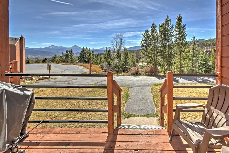 A carefree mountain retreat awaits at this Silverthorne vacation rental condo!