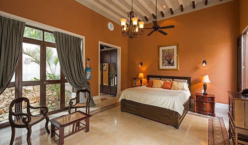Chambre à coucher principale (King Size)