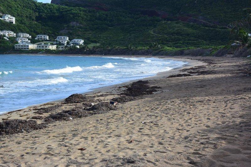 playa del norte de Frigate Bay