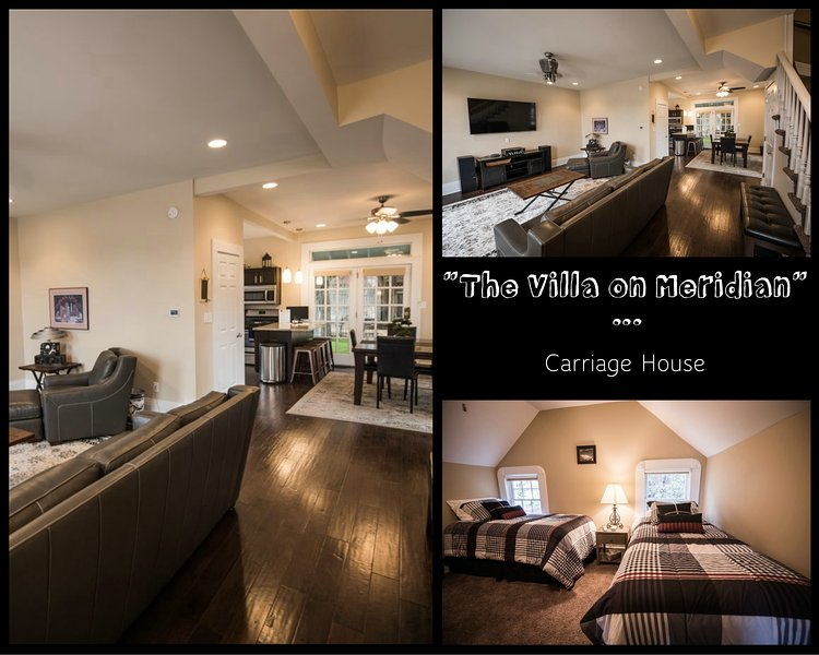 The Villa on Meridian - Carriage House, holiday rental in Plainfield