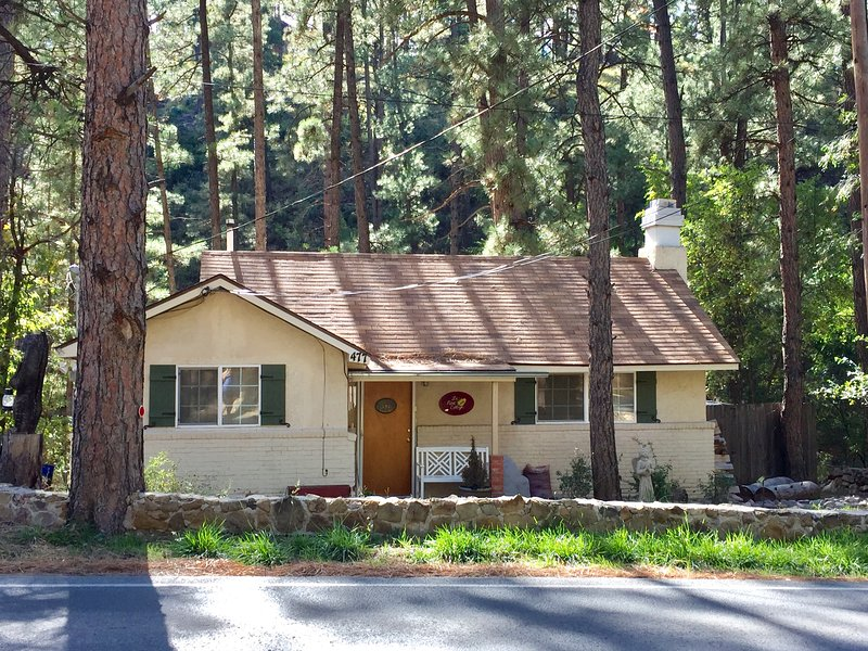 Cozy Cottage-charming, romantic, relaxing getaway in the cool pines of Ruidoso, vacation rental in Ruidoso Downs