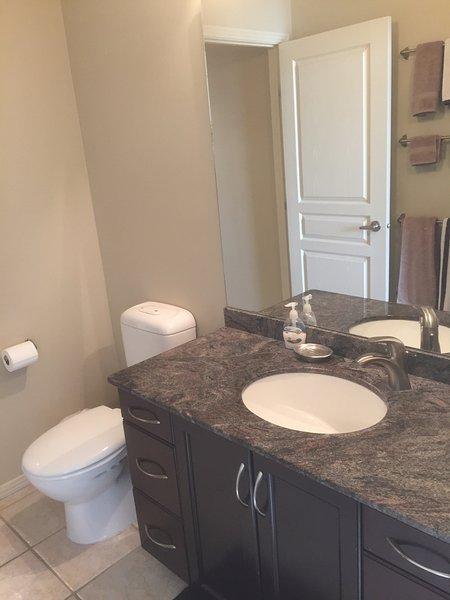 De granito cuarto de baño con WC eco australianos pero eficaces