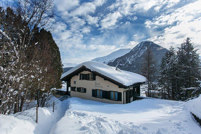 Chalet vue au lac - Ferienwohnung 1, alquiler de vacaciones en Klosters