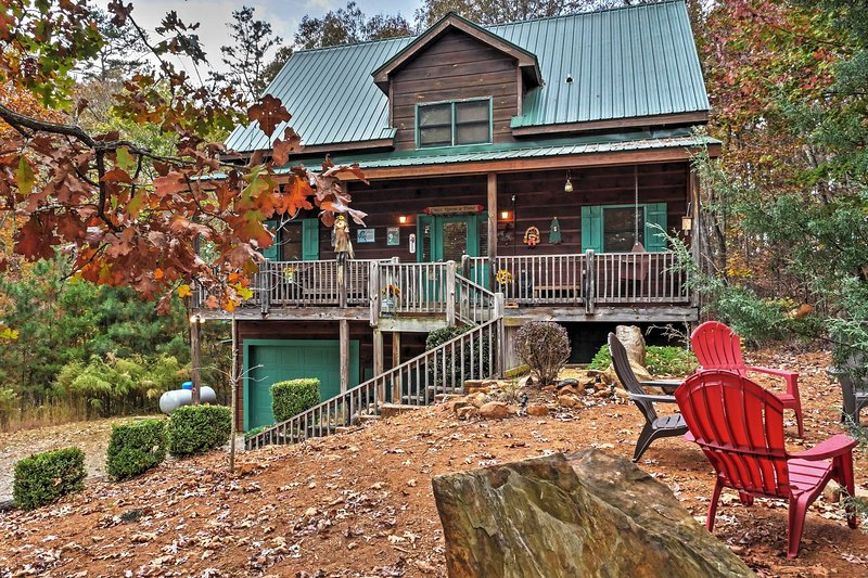 Coosawattee River Resort Home Mins From Blue Ridge UPDATED