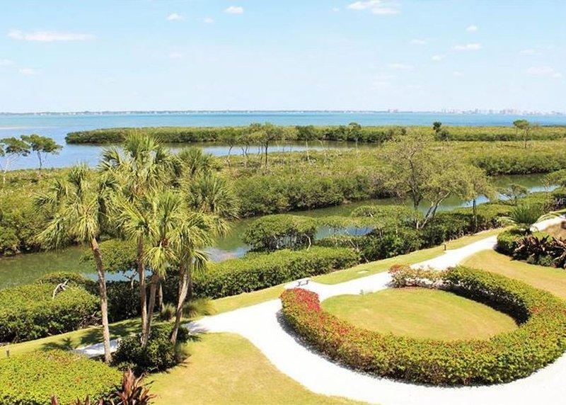 Mit Blick auf Sarasota Bay.