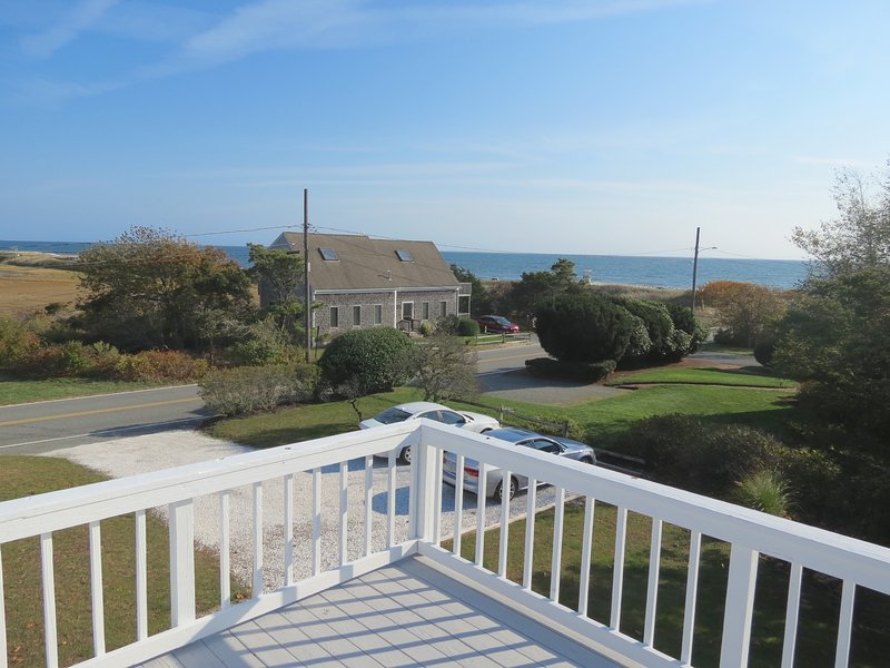 Two houses back from Nantucket Sound and Red River Beach