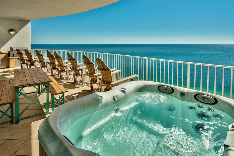 Turquoise Place Cat's Meow, Private Balcony Jacuzzi, 5 pools incl LAZY RIVER, alquiler de vacaciones en Orange Beach