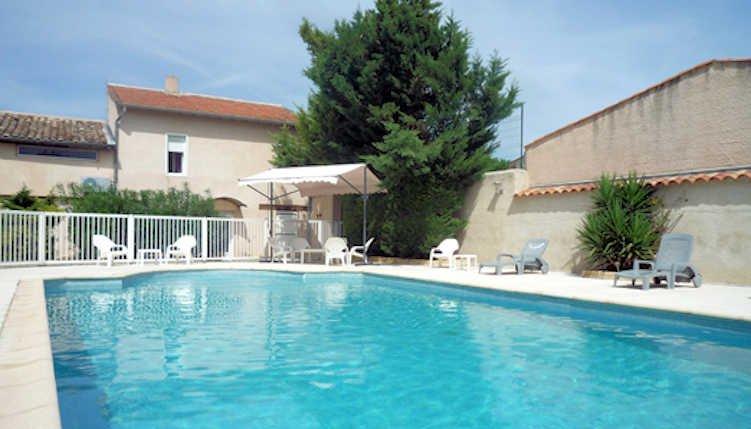 Villa Rose - Montagnac villa South France with private pool sleeps 10-14, vacation rental in Lezignan-la-Cebe