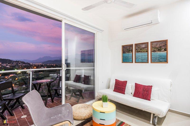 Terrazas Tayrona - Apartamento con Terraza en El Rodadero 4 personas JN, alquiler vacacional en Santa Marta