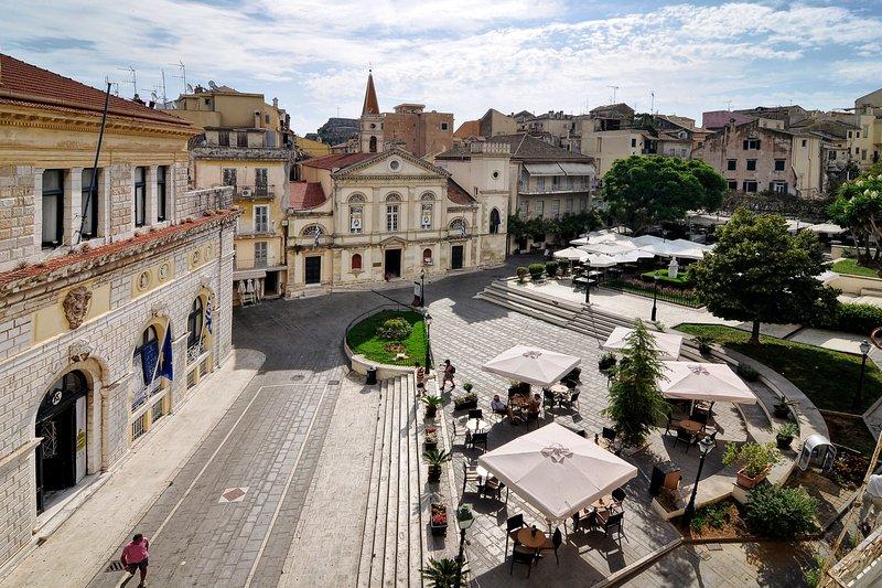 San Giacomo Apartment, aluguéis de temporada em Corfu Town
