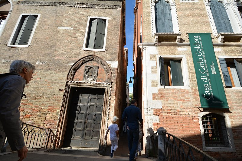 Tintoretto Museum, just around the corner