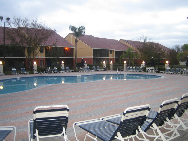 One of several swimming pools