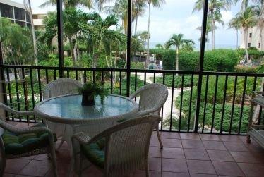 Balcón, silla, muebles, Banco, patio
