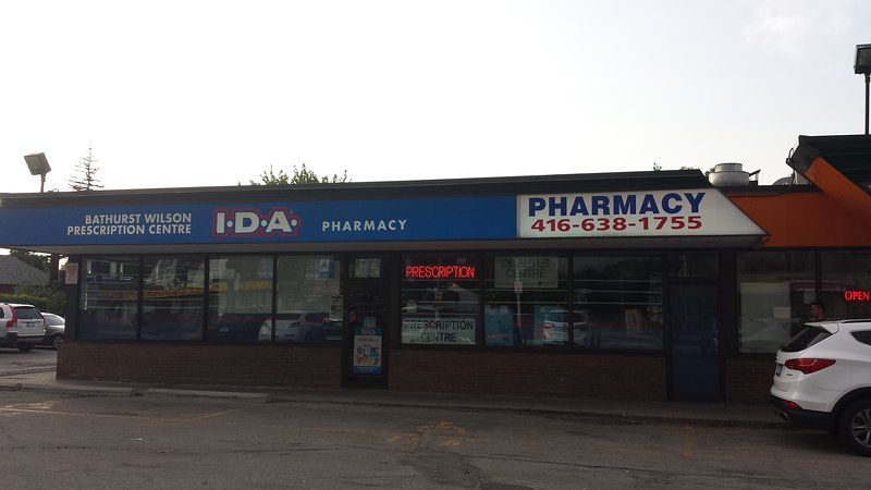Several pharmacies within 2-5 mins walk; there are clinics as well