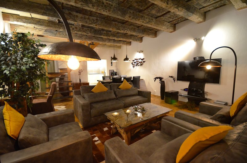 Attic Nerudova II - Iconic three bedroom apartment, casa vacanza a Unhost
