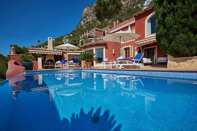 Las Escaleras – Juan+Lucia 70 B+C – Sea View/Private Pool, vacation rental in S'Arraco