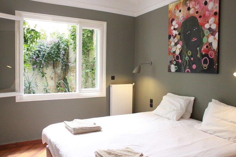 Chambre avec lit king size qui peut être configuré comme deux singles