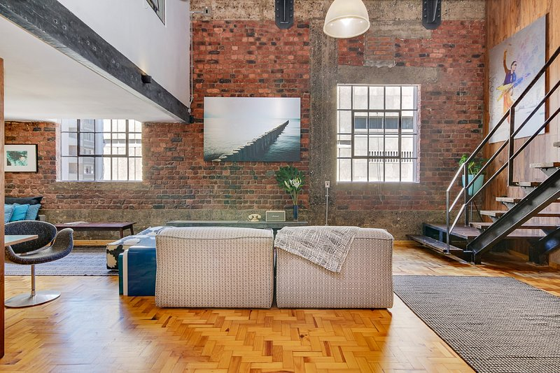 New York style Loft Apartment No 6 Has Housekeeping ...