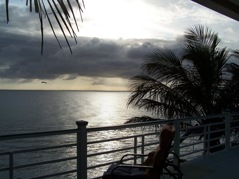 Picture from the beachfront deck