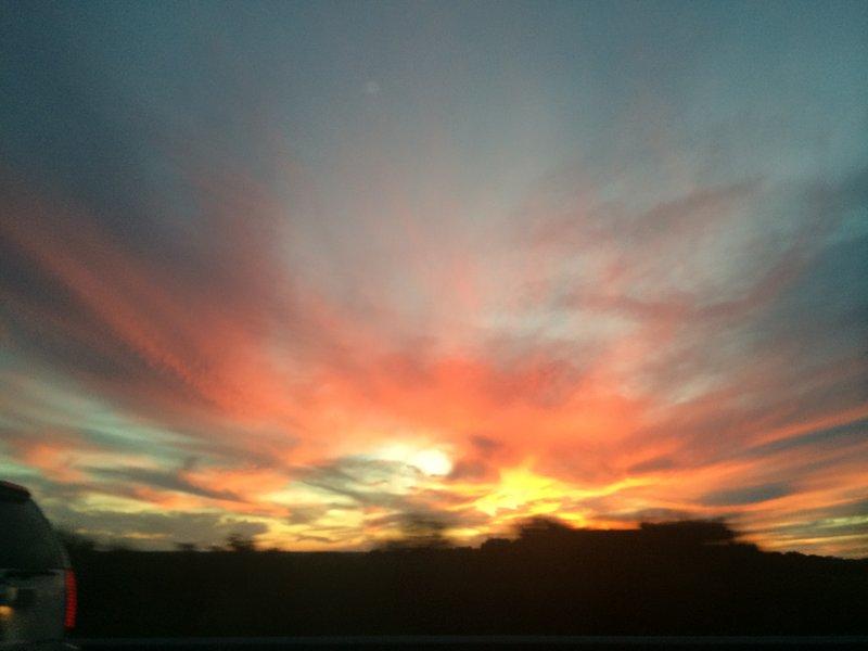 couchers de soleil Marfa