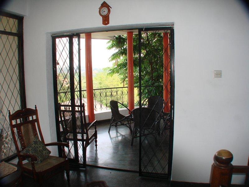 entrance to balcony