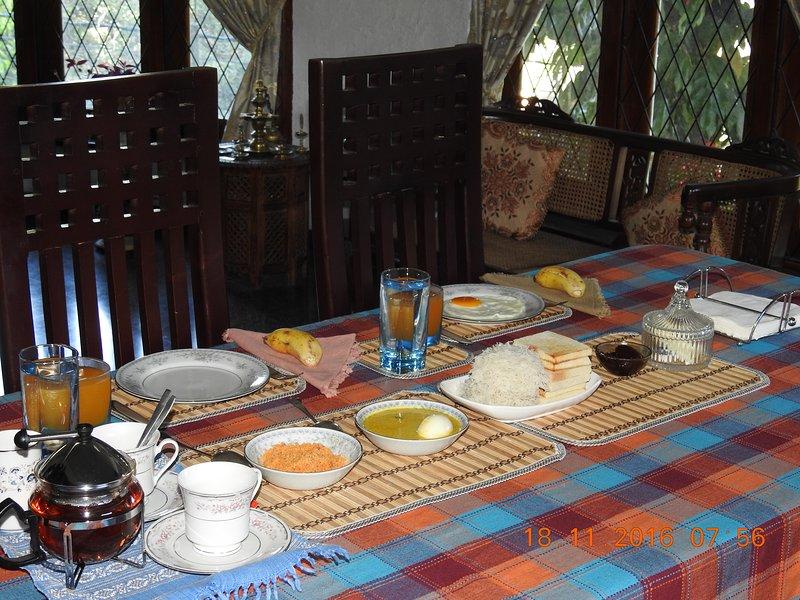 Breakfast at Serenity