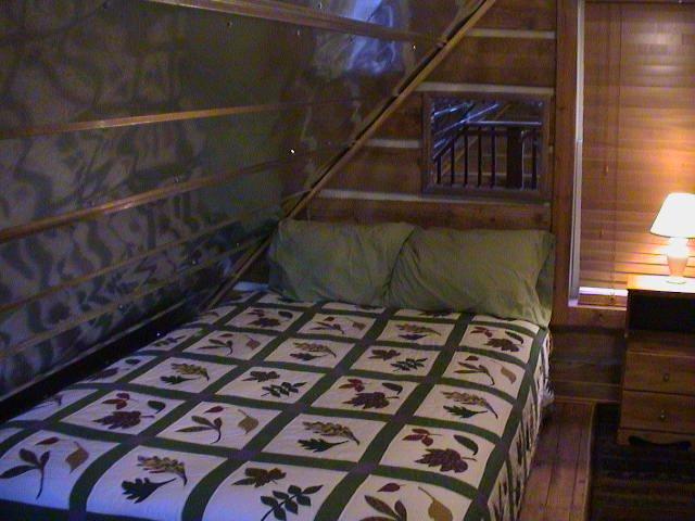 Gorgeous Log Cabin Retreat! Romantic! Peaceful!, casa vacanza a Cedar Bluff