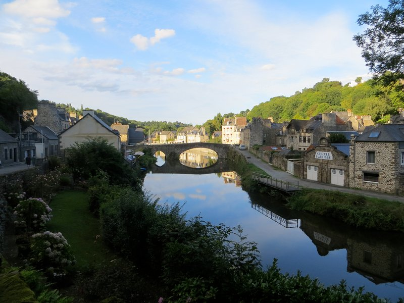 Dinan is the nearest large town - its port offers great restaurants and river excursions