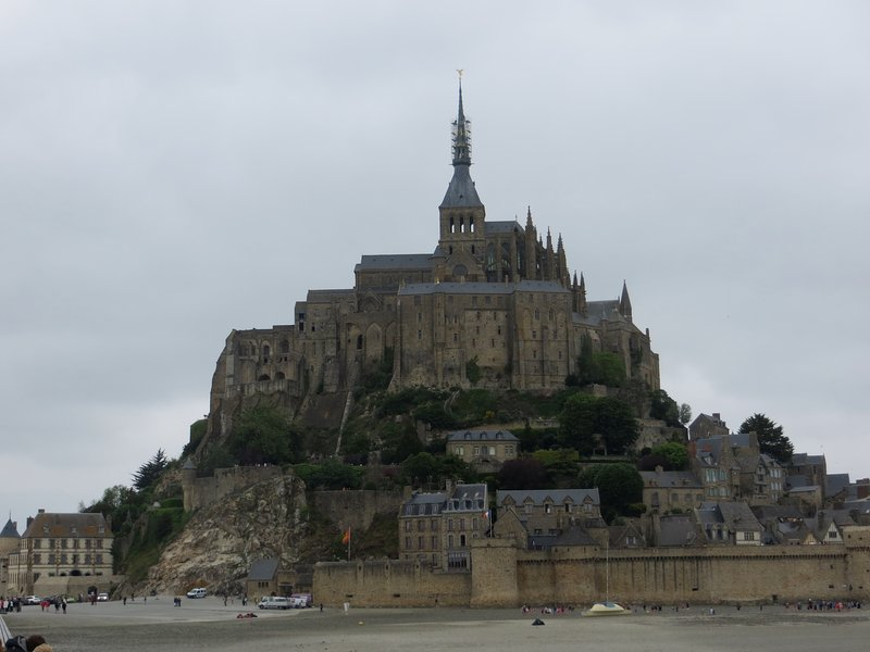 Mont-Saint-Michel is the major tourist attraction in the region and well worth visiting