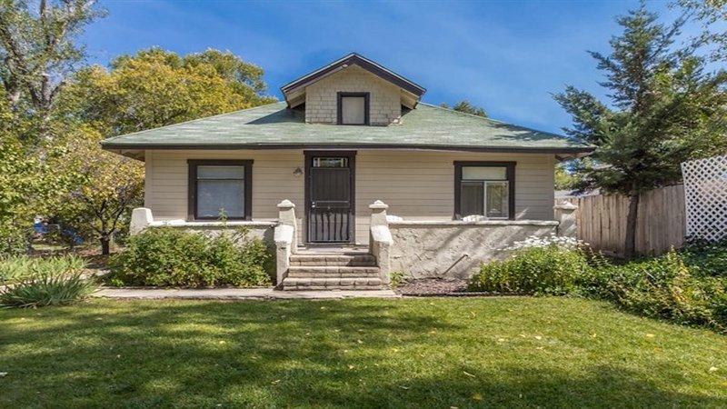 Welcome to Granite Creek Cottage in Prescott, Arizona  Creek Side Porch