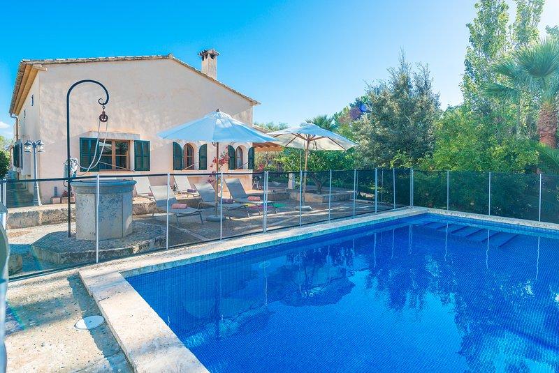 VISTA ALEGRE - Villa for 6 people in MANACOR, vacation rental in Cala Mandia