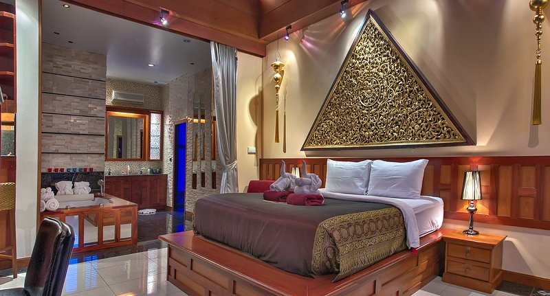 Master Bedroom 100 SQM with Everything you can wish for