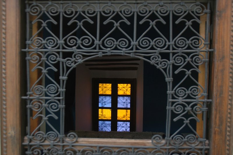 janelas do quarto