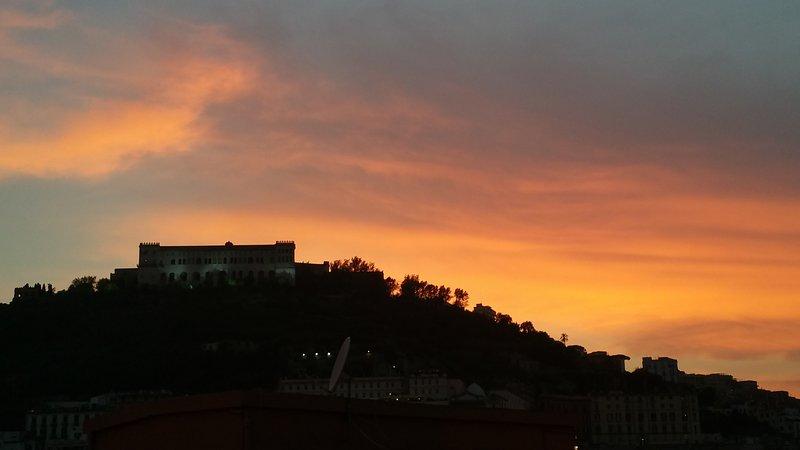 Panorama tramonto-sunset