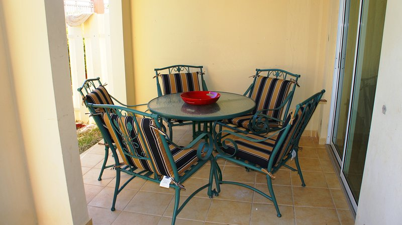 Patio table for your party