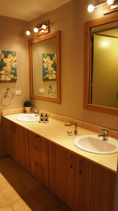 His and Hers sinks