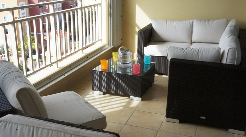 Terrace seating arrangments