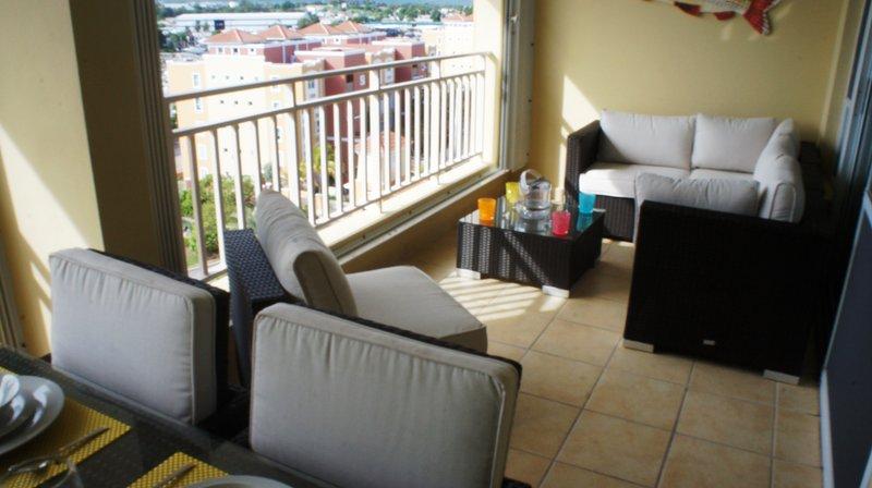 Terrace seating arrangements