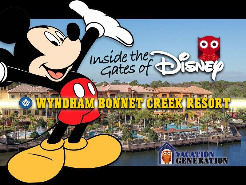 Bonnet Creek Resort dentro de las puertas de Disney en Orlando