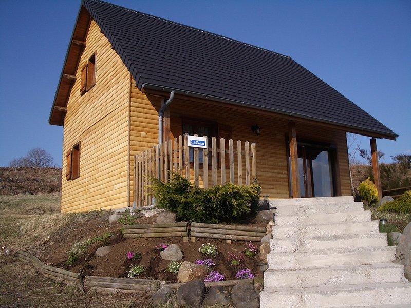 Chalet in Saint-Genès-Champespe, holiday rental in Picherande