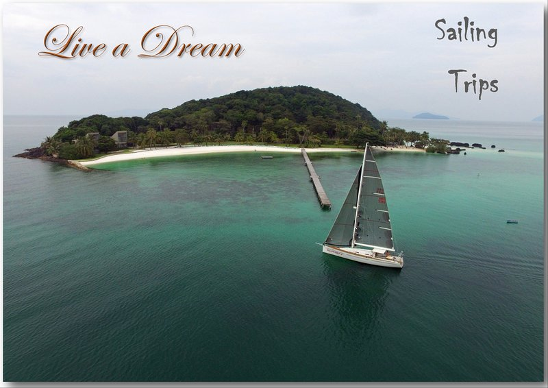 Beautiful sailing boat, holiday rental in Ko Chang