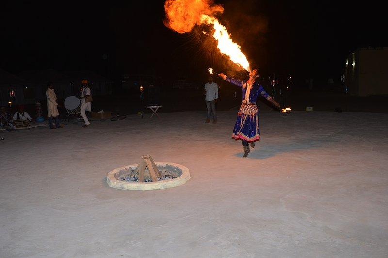 Camp Fire Show