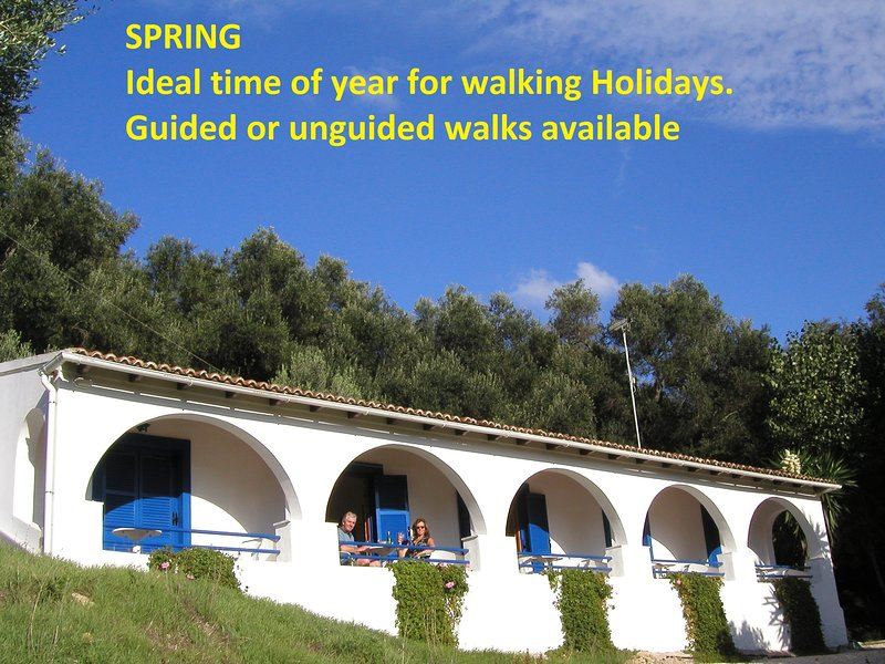 Melianou Holidays Spring ideal time of year for walking holidays. Guided or unguided walks available