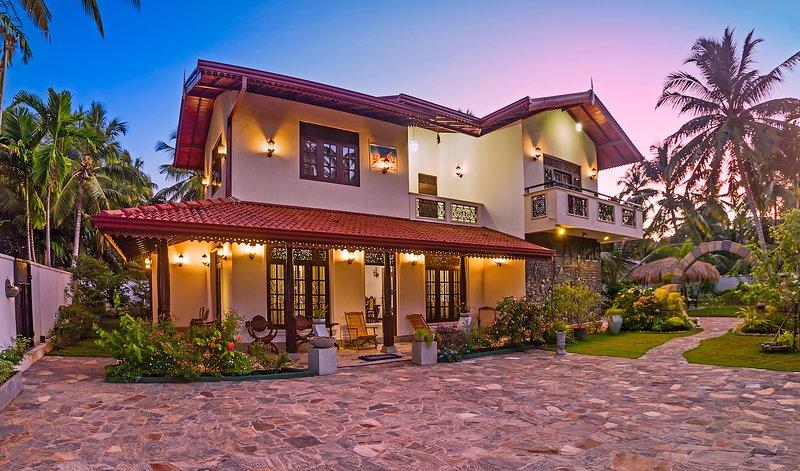 Villa Vista de frente