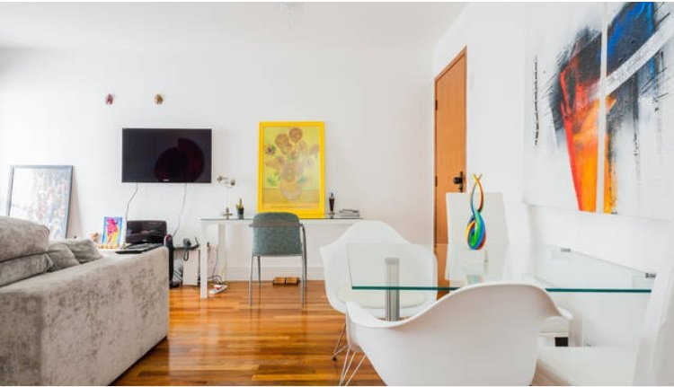 Amazing one bedroom, with bathroom, kitchen and balcony, aluguéis de temporada em São Paulo